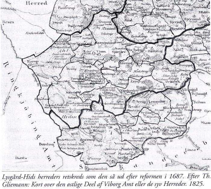 Hids Herreds Retskreds I 300 Aar